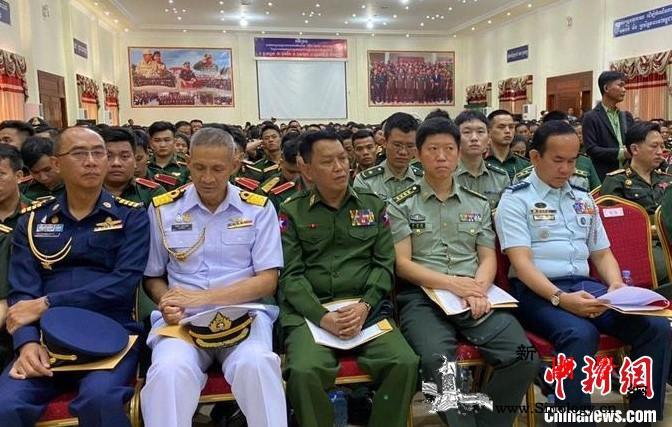 柬国防部向中国捐赠物资抗击疫情_国防部-柬埔寨-武官-