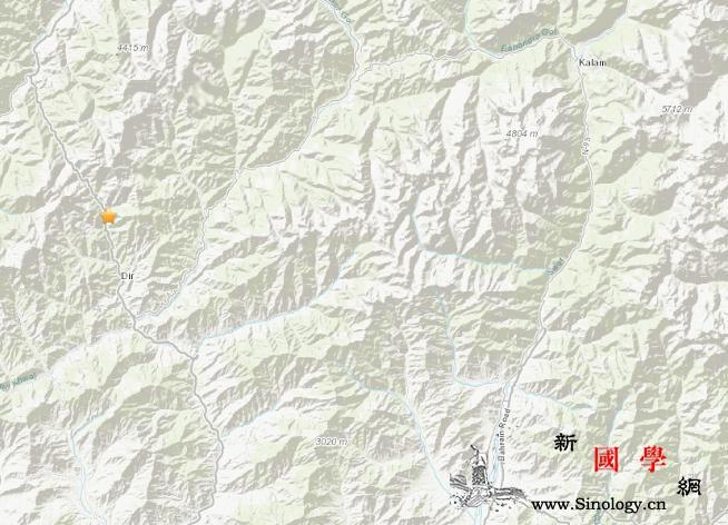 巴基斯坦迪尔北部发生4.5级地震震源_巴基斯坦-美国-迪尔-