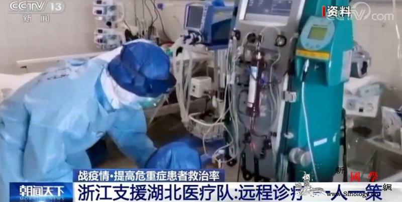 浙江支援湖北医疗队:远程诊疗一人一策_荆门-浙江大学-医疗队-