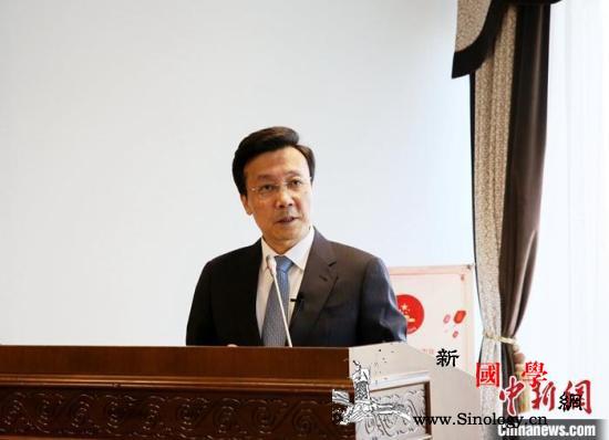 哈萨克斯坦议会下院议长会见中国驻哈大_哈萨克斯坦-疫情-防控-