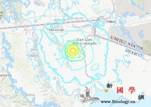 墨西哥西部发生5.5级地震震源深度3_墨西哥-震源-北京时间-