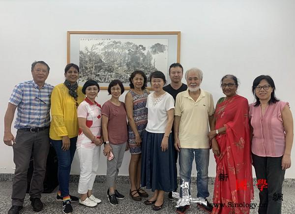 毛里求斯中国美术协会会长:将继续与中_毛里求斯-学员-理事会-文化中心-