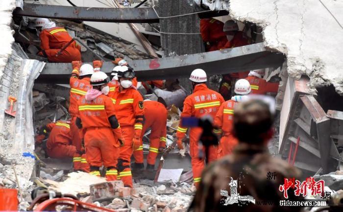 福建泉州坍塌酒店多次违规改建仍有10_泉州市-搜救-坍塌-