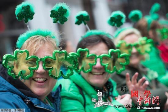 受新冠疫情影响美纽约圣帕特里克节游行_爱尔兰-纽约-美国-