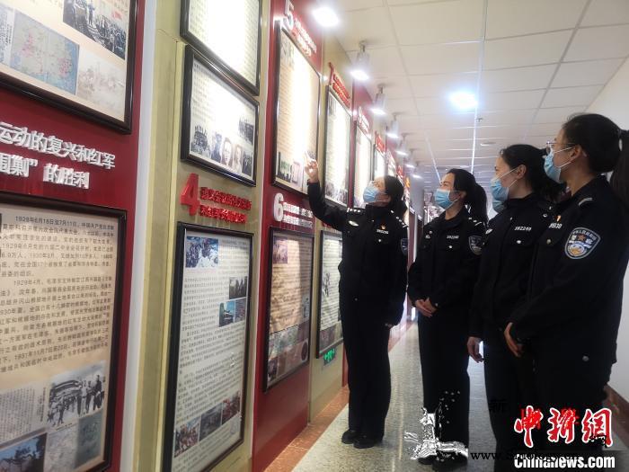 西藏多地移民警察开展清明祭英烈活动_轮训-英烈-西藏-