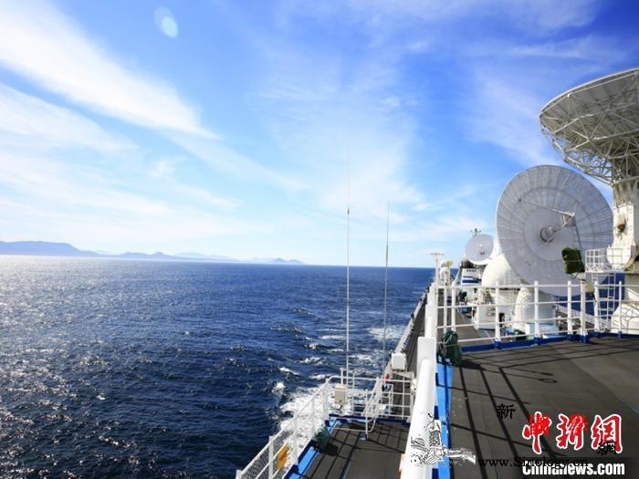 远望7号船首过好望角挺进大西洋执行海_测控-远望-航行-