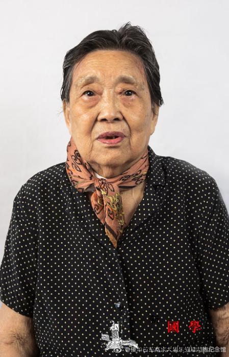 南京大屠杀幸存者姚秀英去世登记在世幸_画中画-幸存者-纪念馆-