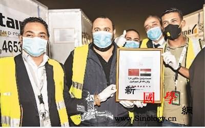 中国支援多国抗疫_开罗-塞尔维亚-叙利亚-运抵-