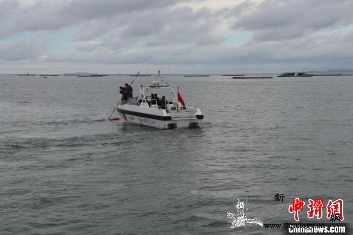 广西海警局开展专项训练提升海上维权执_西海-演练-图为-