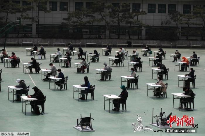 调查:8成韩民众因实施保持社会距离措_韩国-民众-距离-