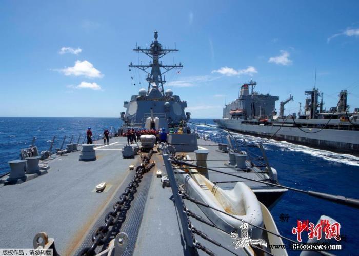 """美海军""""基德""""号驶入圣地亚哥隔离已有_船员-驱逐舰-罗斯福-"""