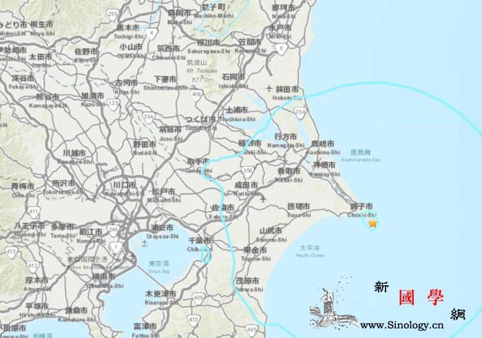 日本东部海域发生5.6级地震震源深度_画中画-日本-美国-