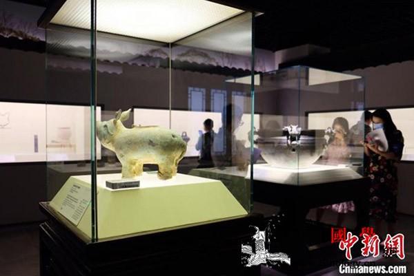 """上海博物馆""""春风千里-;-;江南文化_江南-淳化-板块-春风-"""
