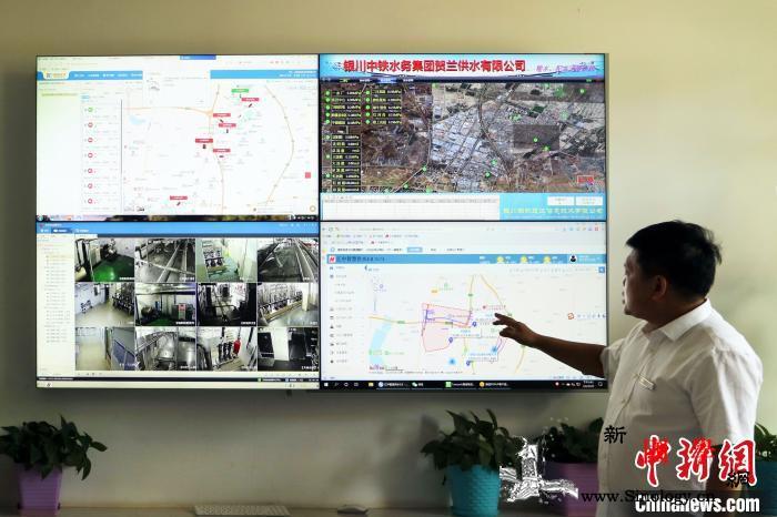 宁夏银川都市圈城乡西线供水工程实现全_永宁-银川-西线-