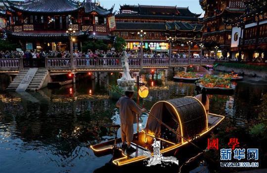 上海启动首届夜生活节_豫园-斯里兰卡-画中画-