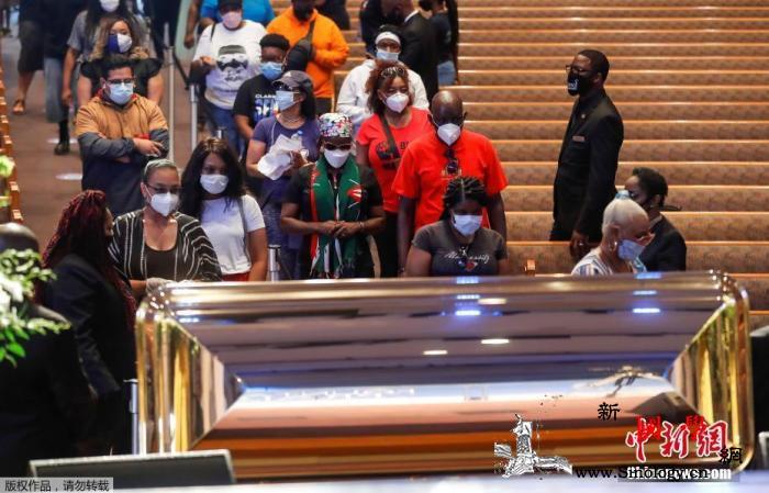 美国非裔男子乔治·弗洛伊德的葬礼将在_得克萨斯州-休斯敦-弗洛伊德-
