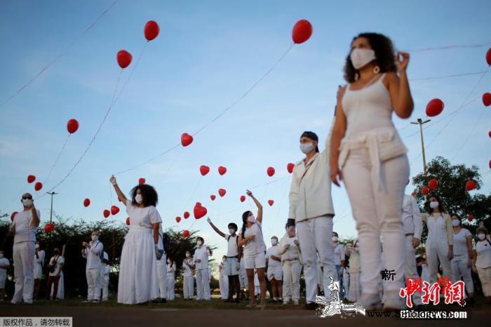 巴西累计新冠肺炎确诊病例近74万圣保_巴西利亚-圣保罗-巴西-