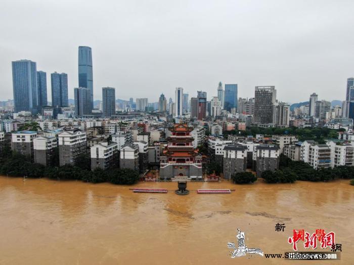 汛期以来7省份共增加体积水约1657_滨江-广西-降雨-