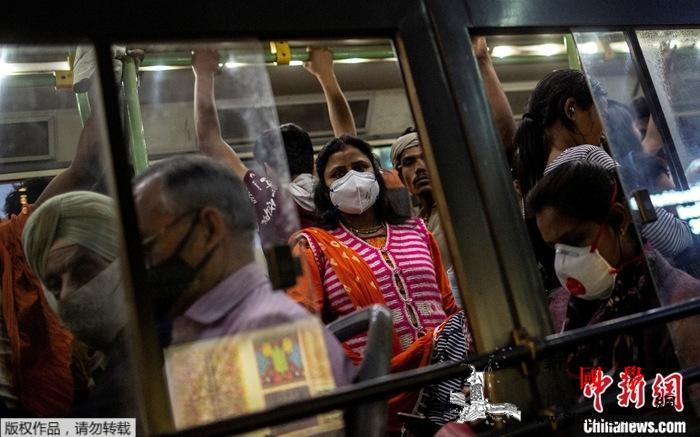 """新冠病例数量激增印度多个地区将再度""""_泰米尔-印度-病例-"""