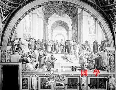 他的画包含文艺复兴最珍贵的人文遗产_拉斐尔-芬奇-雅典-教皇-