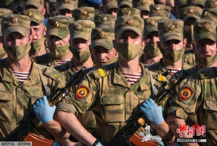 克宫:阅兵筹备和组织工作已采取一切必_莫斯科-阅兵式-俄罗斯-