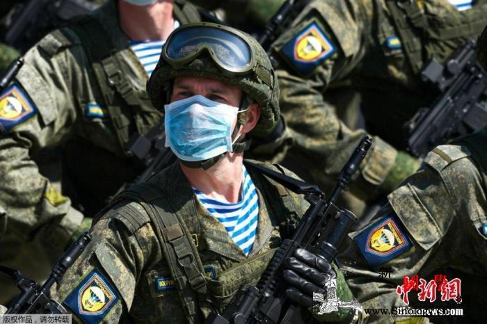 俄莫斯科胜利日阅兵式按计划准备中已采_卫国战争-阿拉-莫斯科-