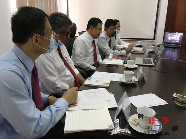 中国和斯里兰卡教育部门共同举办抗疫经_斯里兰卡-复课-教育部-教育-