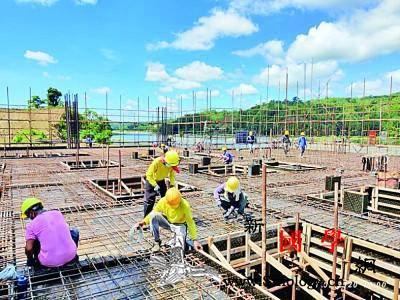 中国援菲基建项目取得积极进展_马尼拉-菲律宾-复工-