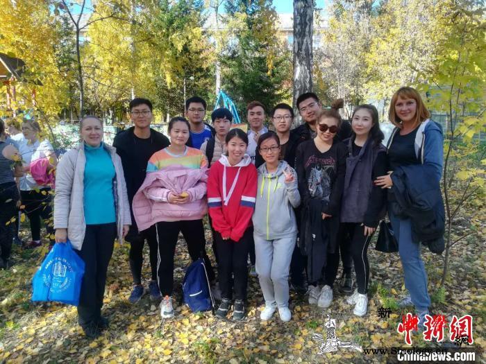内蒙古二连浩特国际学院11名在俄留学_浩特-毕业证-诺亚-