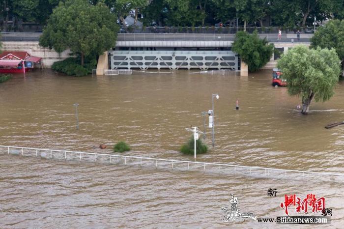 长江中下游干流将全线超警戒三峡减少下_干流-长江-南京-