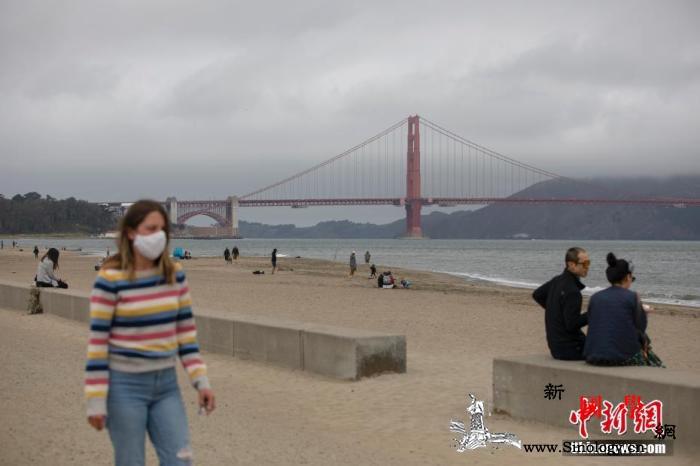 媒体称加州新冠肺炎单日新增病例超1万_旧金山-加州-美国-
