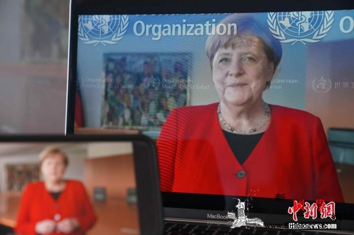 德国确诊超19.9万默克尔:全球协作_德国-致辞-默克尔-