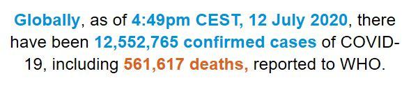 世卫组织:全球新冠肺炎确诊病例超过1_画中画-肺炎-病例-