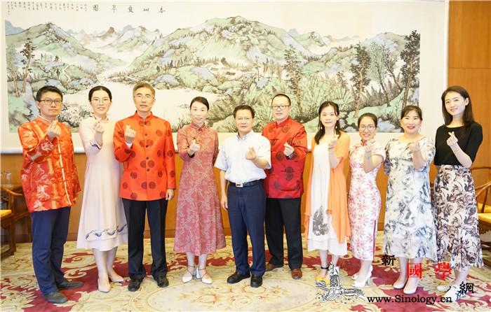 中国驻泰国大使馆应邀拍摄泰国国家泰语_文化部-泰语-泰国-曼谷-