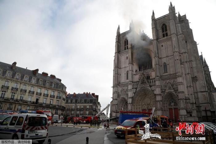 """巴黎圣母院重建时间刚宣布法国又一""""_布列塔尼-南特-巴黎-"""
