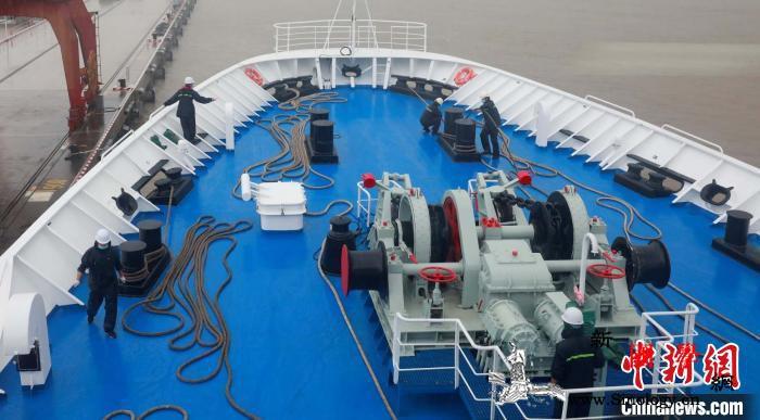 远望3号船完成维修改造工作曾执行神舟_测控-远望-海上-