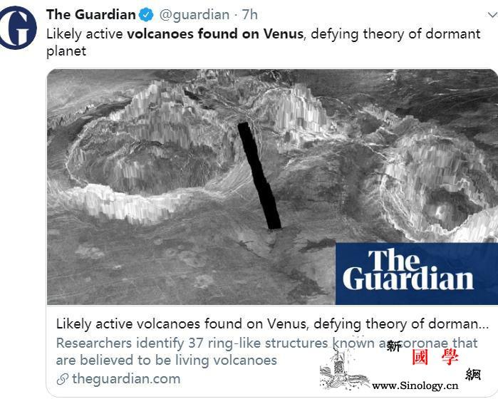"""金星非""""休眠世界""""!科学家称上面或有_休眠-英国-马里兰-"""