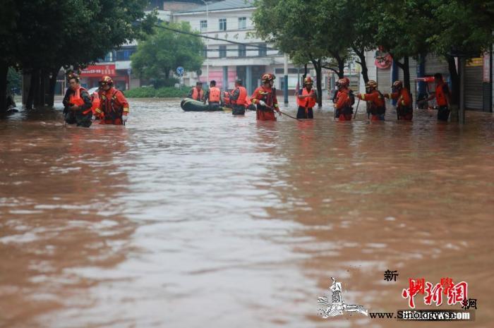 6月以来洪涝灾害已致4552.3万人_海河-淮河-洪涝灾害-