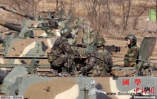 韩媒:韩美联合军演将于8月进行大幅缩_韩国-国防部-军演-