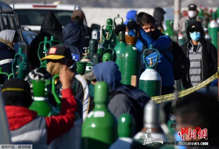 秘鲁国会已有175名工作人员确诊感染_氧气瓶-肺炎-国会-