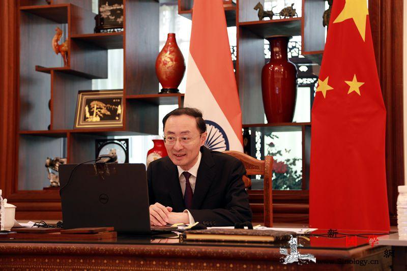 中国驻印度大使:中印应冷静避免误判_印度-画中画-误判-