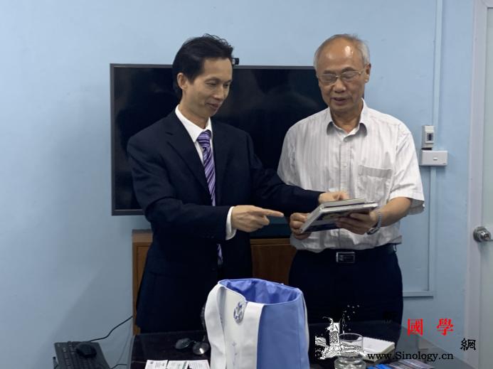 河内中国文化中心主任拜会越南旅游协会_河内-广西-广宁-拜会-
