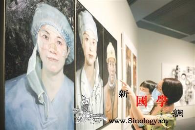 抗疫主题美术展在京开展_复工-水彩画-美术作品-抗击-