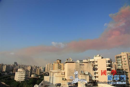 黎巴嫩首都港口区发生爆炸至少10人死_贝鲁特-黎巴嫩-建筑物-