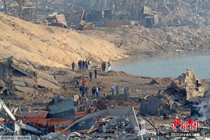 黎巴嫩爆炸事件已致百人遇难国际社会积_贝鲁特-黎巴嫩-援助-