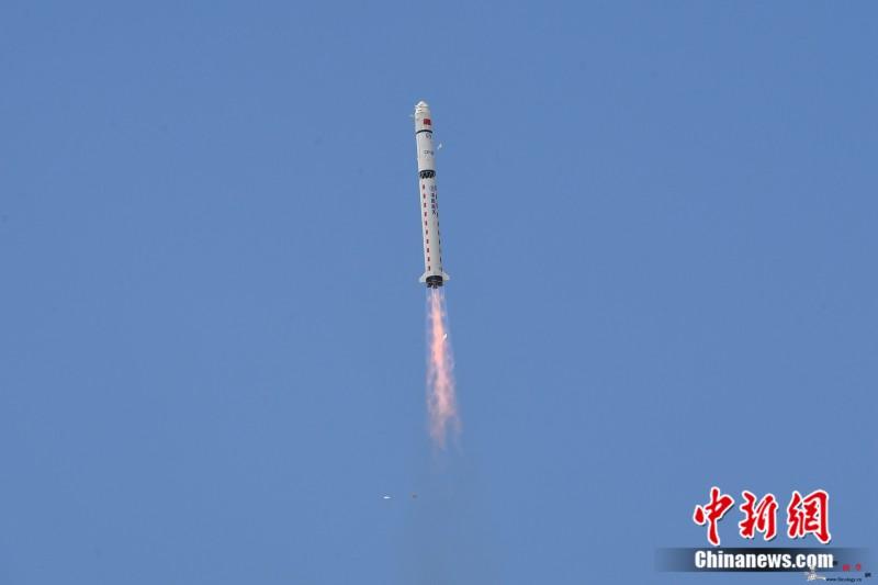 一箭双星中国成功发射高分九号04星和_长征-清华-估产-
