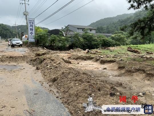 韩国暴雨灾害已累计造成28人死亡44_画中画-韩国-灾害-