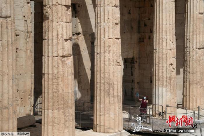 希腊本土疫情蔓延雅典一博物馆因员工感_雅典-希腊-博物馆-