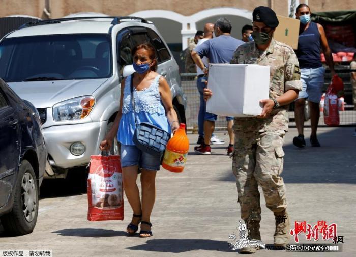 黎巴嫩贝鲁特港口恢复部分运营以确保市_贝鲁特-黎巴嫩-港口-