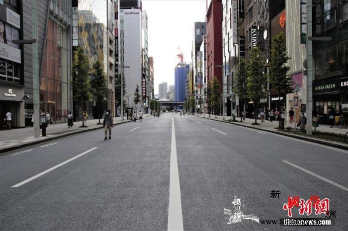 东京新增新冠确诊患者161人时隔一周_银座-东京-商业区-